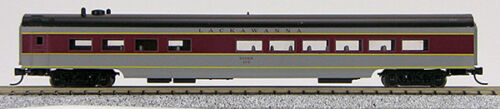1-40301 N Smooth Side Passenger Diner Car Lackawanna Maroon /& Grey
