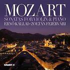 Mozart: Sonatas for Violin & Piano (CD, Sep-2014, Hungaroton)