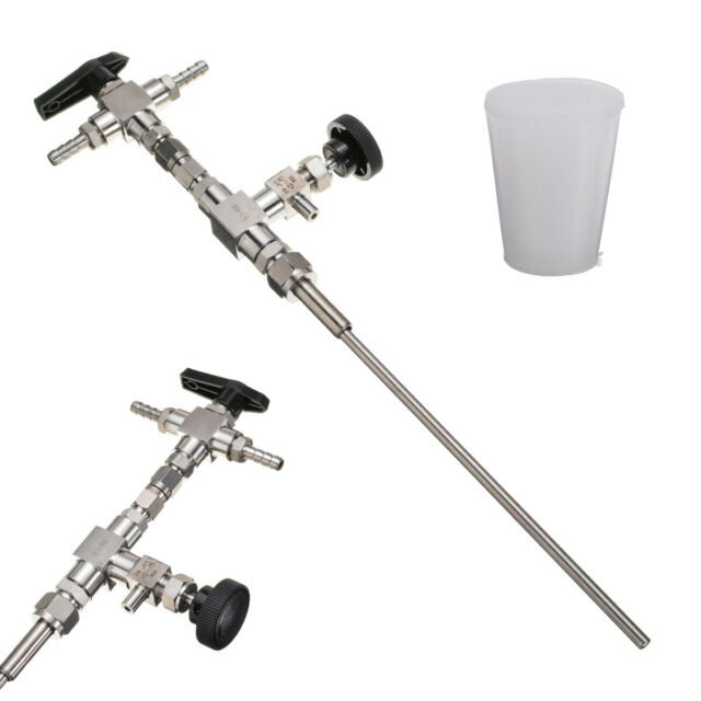 Stainless Steel Counter Pressure Beer Bottle Filler CO2 Beer Kits For Home brew