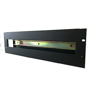 3u-19-034-Rack-Mount-DIN-Rail-Panel-Bracket-With-Removable-Cover