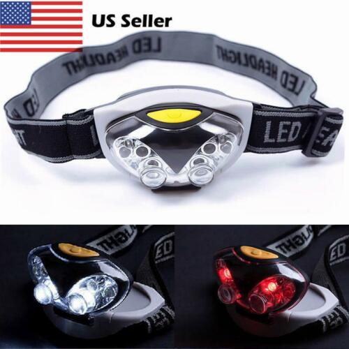 3 Modes Bright 6 LED Head Lamp Light Torch Headlamp Headlight Flashlight Ii
