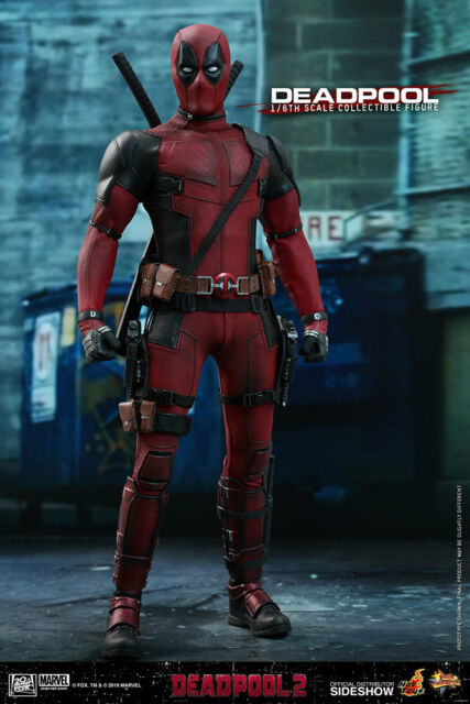 Hot Toys Deadpool 2 Acción Figura 1/6 Escala Wade Wilson Ryan Reynolds MMS490