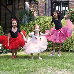 6d3818bf5 New Girls Deluxe Full Frothy Layered Ballerina Ballet Tutu Fancy ...