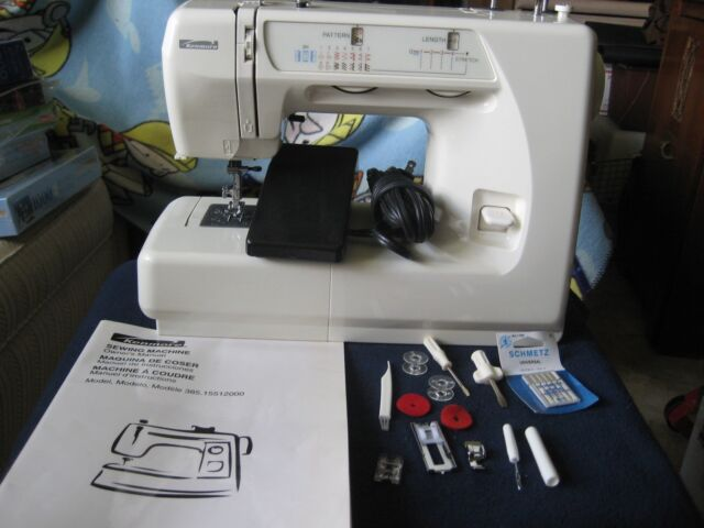Kenmore Sewing Machine Model 4040 With Accessories Pedal Custom Kenmore Sewing Machine Accessories