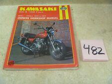 Kawasaki 900 1000 Z1 KZ900 KZ1000 Used Haynes Service Manual 1973-77 #VP-MAN482