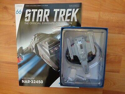 Model with Magazine #66 by Eaglemoss Star Trek USS Raven NAR-32450
