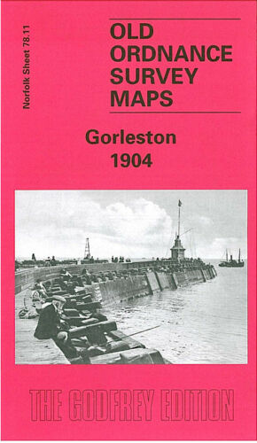 OLD ORDNANCE SURVEY MAP GORLESTON 1904 SCHOOL LANE CLARENCE ROAD THE POINT