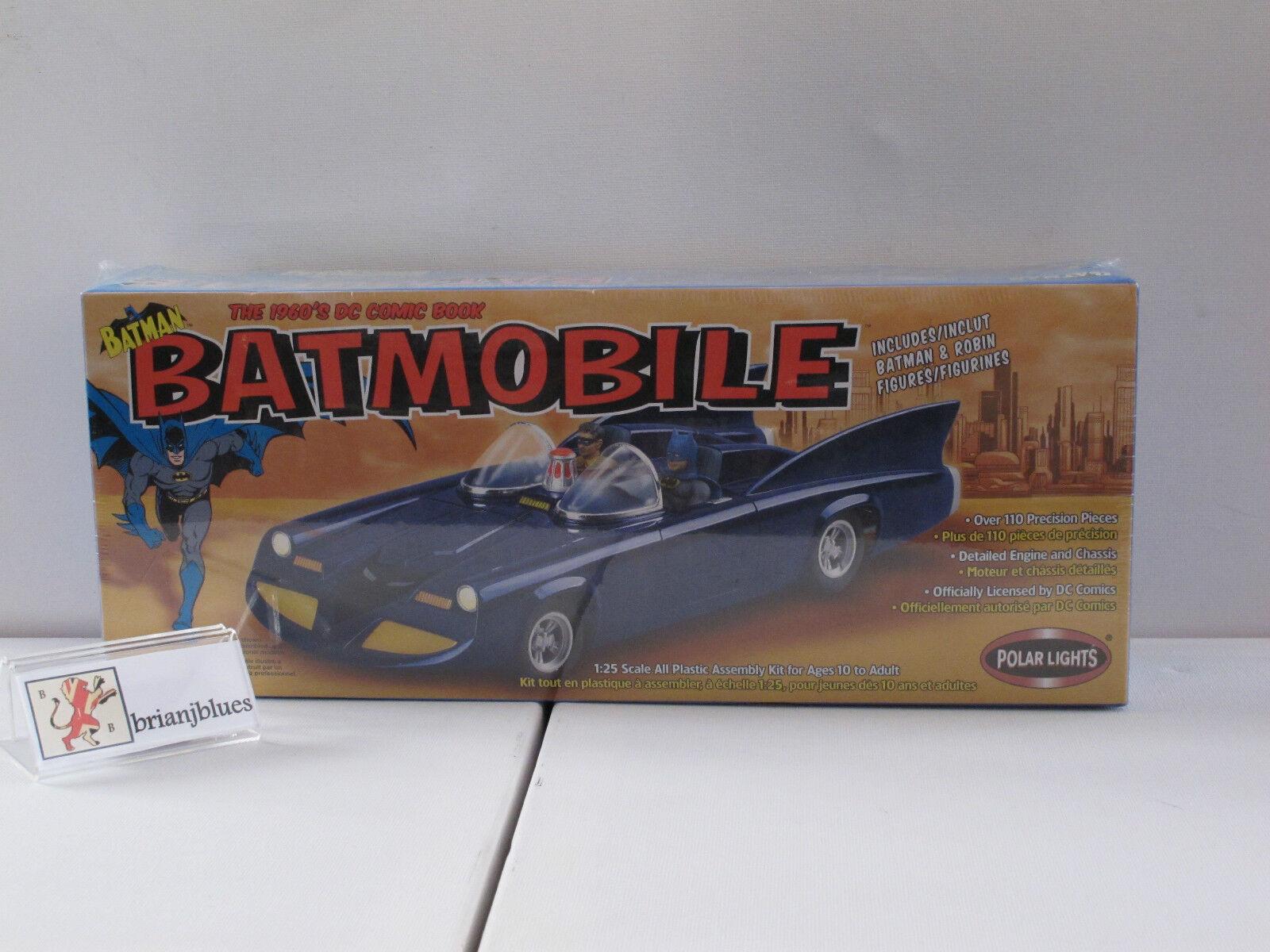 POLAR LIGHTS VINTAGE BATMOBILE MODEL KIT STILL BOXED & SEALED (2002)