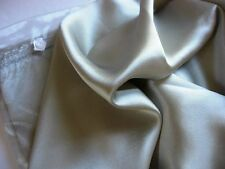 Set of 2 100% mulberry silk pillowcases QUEEN silver pillow cases  covers