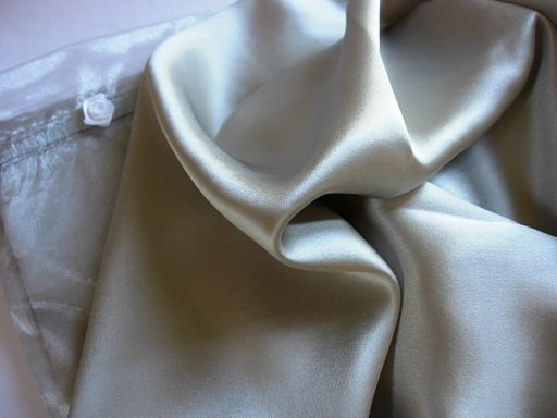 100% silk pillowcases QUEEN silver pillow cases  covers by Feeling Pampered