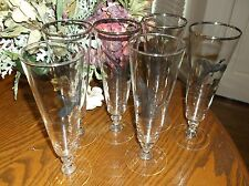 SET OF 6 WINE GLASSES CANADA GOOSE, CANVASBACK,GROUSE, PHEASANT FOWL BIRDS