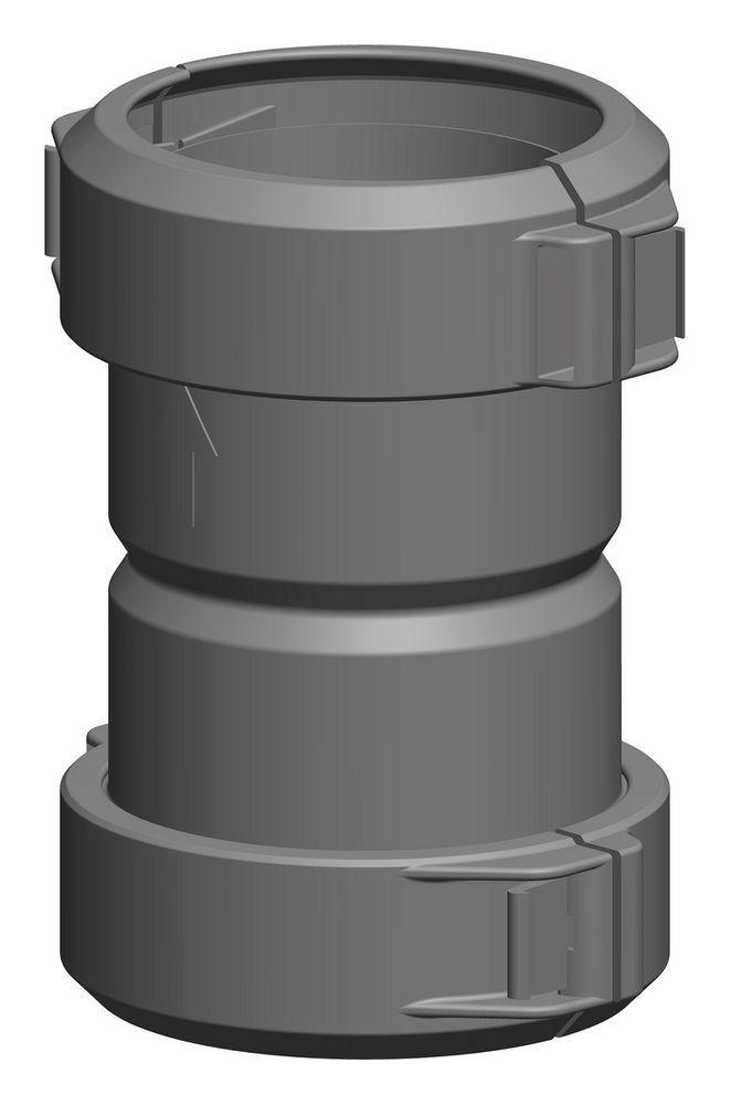 Atec 1351 Abgas Kupplung für Rohr flexibel DN 80 mm Abgasrohr Schornstein