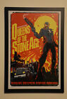 QUEENS OF THE STONE AGE MELBOURNE 2008 POSTER ONLY 450 FRAMED not cd vinyl shirt