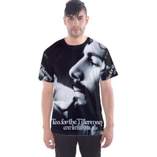 """Cat Stevens /""""Tea for the Tillerman/"""" Tee Full Print Tshirt New Men/'s T-Shirt"""