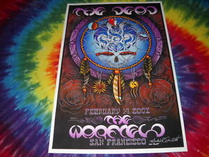 THE-GRATEFUL-DEAD-WARFIELD-THEATER-FEB-14-039-03-MICHAEL-EVERETT-POSTER-SIGNED-RARE