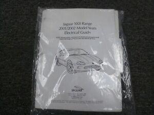 2001-2002 Jaguar XK8 Coupe Convertible Electrical Wiring Diagrams Manual  4.0L V8 | eBayeBay