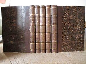C-DELAVIGNE-MESSENIENNES-POESIES-ET-THEATRE-5-VOL-RELIES-12-PLANCHES-1833