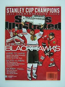Sports Illustrated Chicago Blackhawks 2013 Stanley Cup