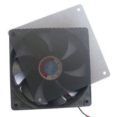 5X120mm Cuttable Black PVC PC Fan Dust Filter Dustproof Case Computer Mesh In JB