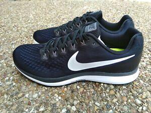 Hombre Nike Air Zoom Pegasus 34 Negro/Gris Oscuro Calzado ...