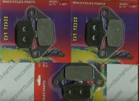 Kawasaki Disc Brake Pads Zn700 1984-1985 Front & Rear (3 Sets)