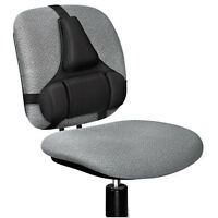 Fellowes Professional Series Back Support Memory Foam Cushion Black 8037601 on sale