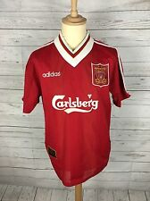 Men's Liverpool Home Football Shirt - 1995/96 - Large - #17 McMANAMAN