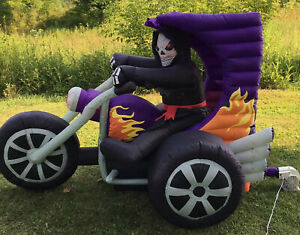 Gemmy-Airblown-Inflatable-6ft-Halloween-Skeleton-Trike