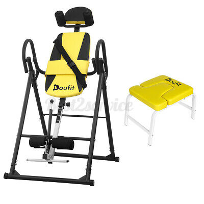foldable inversion table back stretcher inversion yoga
