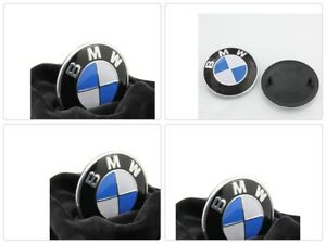 BMW-Emblem-Logo-Replacement-for-Hood-Trunk-2-Pin-82mm-All-Models-Series-3-5-6-7