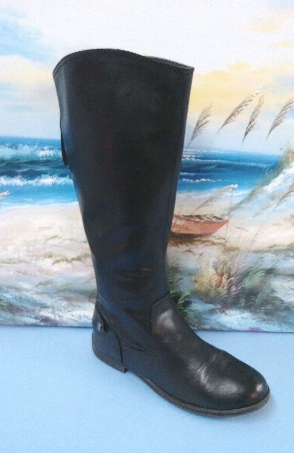 Bongo Trifecta Woman High-Knee Boots Size 9.5 M Style 20295 Black
