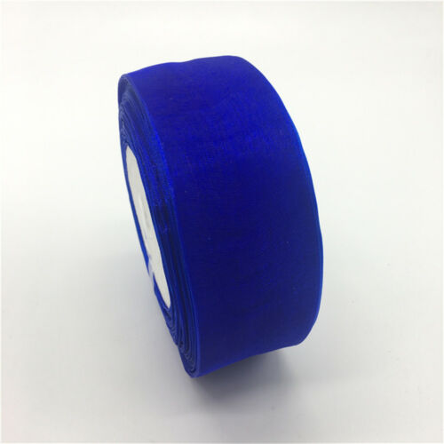 "5yds 1-1//2/"" Edge Sheer Organza Ribbon DIY Bow Hair Wedding Decoration 38mm"