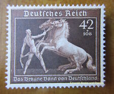 EBS Germany 1939 Brown Ribbon Horse Race - Braunes Band - MNG Michel 699