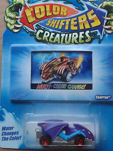 Details About Hot Wheels Color Shifters Creatures Vampyra