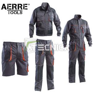 Completo-professionale-da-lavoro-270gr-AERRE-Liberty-2-multi-tasche-antistrappo