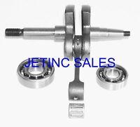 Crankshaft Kit Fits Stihl Ts510 Cutoff Saws W/ Bearings
