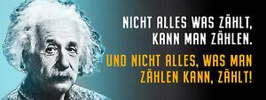 Albert Einstein Collage Saying 58 Tin Sign Shield 10 X 27 CM K1616