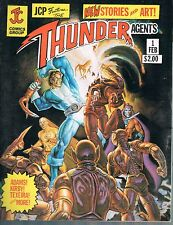 T.H.U.N.D.E.R. Agents #1 very early Mark Texeria JC Comics 1981