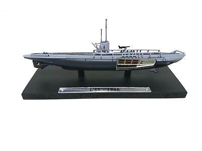 1:350 Submarine battleship WW2 Atlas military war boat 102 U-181 Kriegsmarine