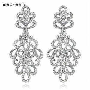 Mecresh-Women-Crystal-Floral-Bridal-Earrings-Silver-Gold-Fashion-Earrings-EH177