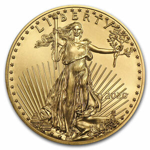2020 1 oz American Gold Eagle $50 US Mint Coin BU