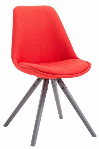 Besucherstuhl Toulouse Stoff Rund Esszimmerstuhl Retro Stuhl Loft Chair