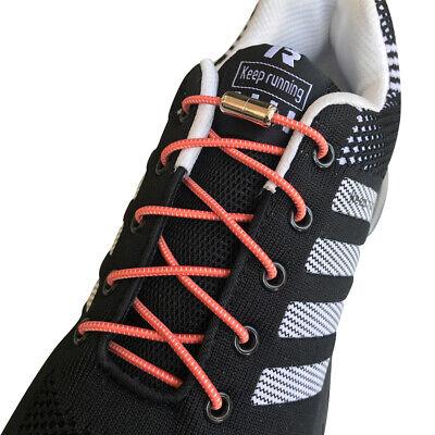 One Pair Locking Shoe Lacing Elastic Shoelaces Running//Jogging//Triathlon//Sports