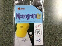Amazing Designs Monogram It Embroidery Lettering Software Plus Bonus