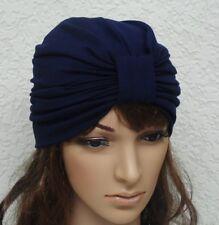 Women's Full Turban Hat, Stylish Hat, Head Covering, Viscose Jersey Turban Hat