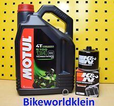 Suzuki GSX-R 1000 01-16 Öl + K&N Ölfilter Motul 5100 10w40 GSXR K1 K2 K3 K4 K5