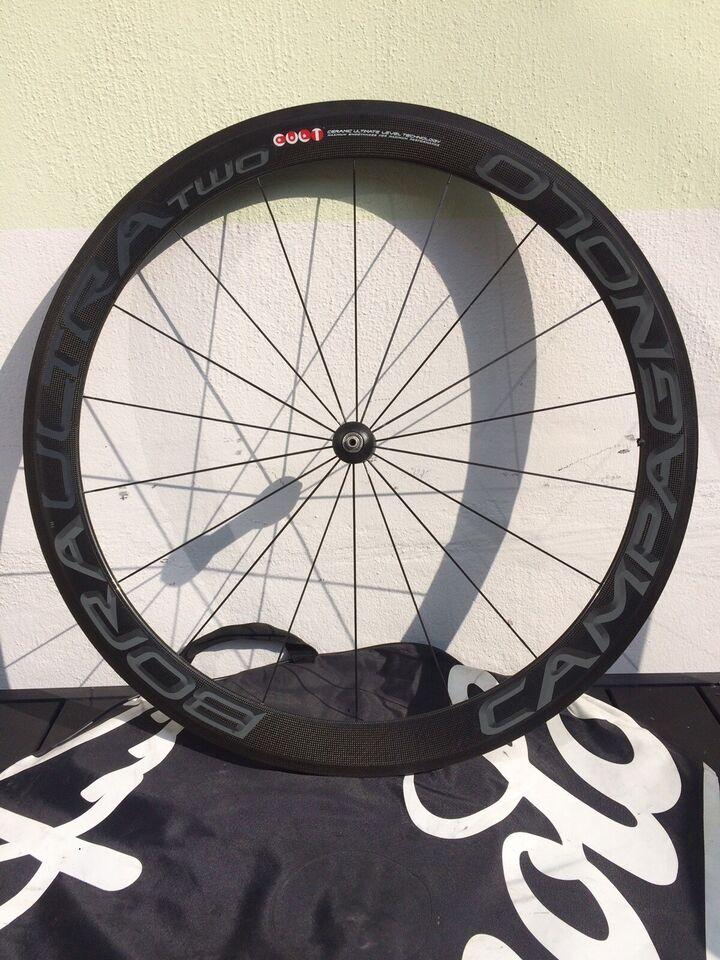 Hjul, Campagnolo Bora ultra Two. Dark model. Tubular. 50