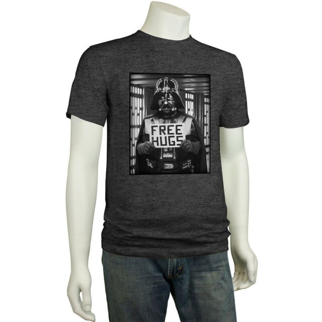 STAR WARS Darth Vader FREE Throat HUGS Funny T-SHIRT Dark Side Anakin Skywalker
