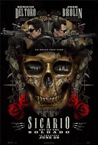 Sicario Day of the Soldado Movie Poster 8x10 11x17 16x20 22x28 24x36 27x40 A