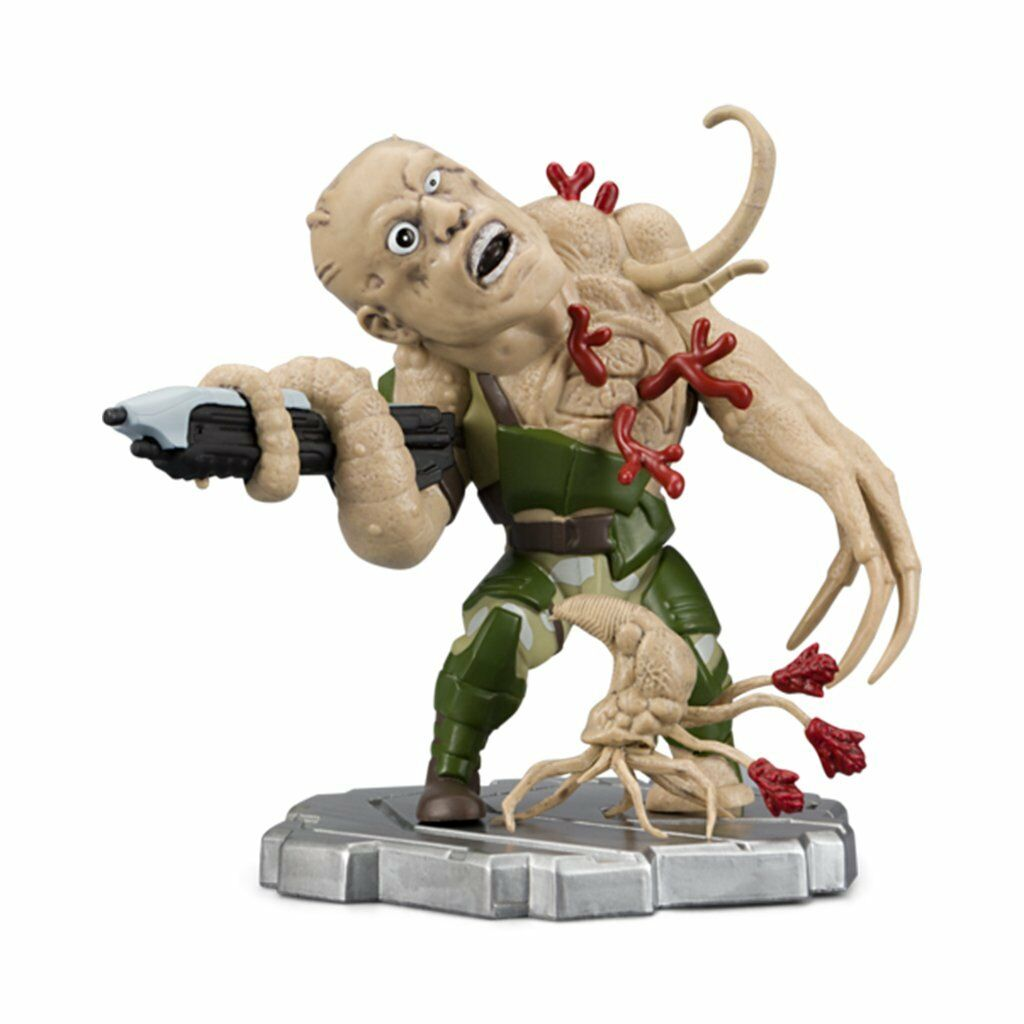 HALO ICONS HUMAN SOLDIER INFECTED FORM Marine Figure 6  15 cm. Boxed brand new